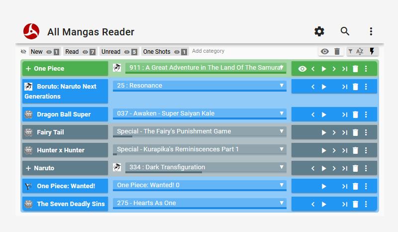 All Mangas Reader